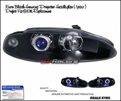 Headlights & Tail Lights - Headlights - Custom - Black Halo Pro Headlights