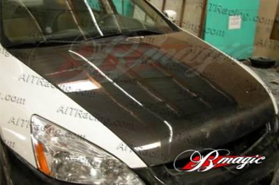 Accord Wagon - Hoods - AIT Racing - Honda Accord AIT Racing OEM Style Carbon Fiber Hood - HA98BMCFH4