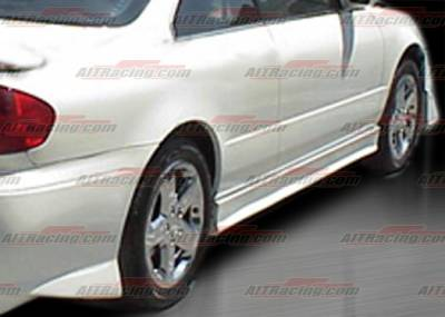 AIT Racing - Acura CL AIT Racing EVO Style Side Skirts - HA98HIEVO3SS4