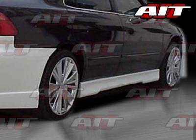 Accord 4Dr - Side Skirts - AIT Racing - Honda Accord 4DR AIT EVO4 Style Side Skirts - HA98HIEVO4SS4