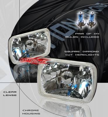 Headlights & Tail Lights - Headlights - Custom - Diamond Euro Headlights