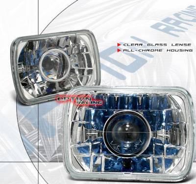 Headlights & Tail Lights - Headlights - Custom - Diamond Cut Pro Headlights