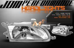 Headlights & Tail Lights - Headlights - Custom - JDM Chrome Headlights