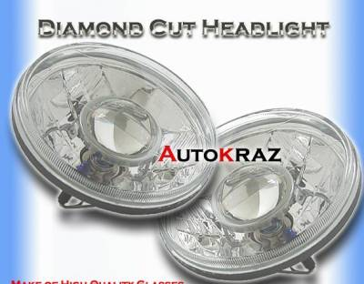 Headlights & Tail Lights - Headlights - Custom - Diamond  Pro Headlights