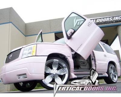 Vertical Door Kits - OEM - Vertical Doors Inc - Cadillac Escalade VDI Vertical Lambo Door Hinge Kit - Direct Bolt On - VDCCADESC9901