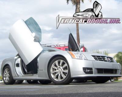 Vertical Door Kits - OEM - Vertical Doors Inc - Cadillac XLR VDI Vertical Lambo Door Hinge Kit - Direct Bolt On - VDCCADXLR0409