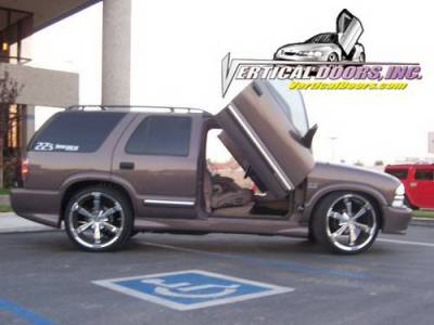 Vertical Door Kits - OEM - Vertical Doors Inc - Chevrolet Blazer VDI Vertical Lambo Door Hinge Kit - Direct Bolt On - VDCCHEVYBL9504