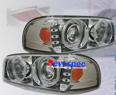 Headlights & Tail Lights - Headlights - Custom - Chrome Pro Headlights