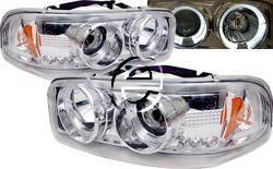 Headlights & Tail Lights - Headlights - Custom - Chrome Halo Pro LED Headlights