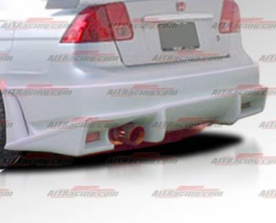 Civic 4Dr - Rear Bumper - AIT Racing - Honda Civic 4DR AIT Racing BMX Style Rear Bumper - HC01HIBMXRB4