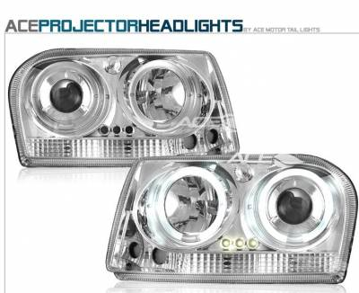 Headlights & Tail Lights - Headlights - Custom - Chrome Clear Pro Headlights