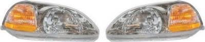 Headlights & Tail Lights - Headlights - Custom - Diamond Head Lamp Headligts