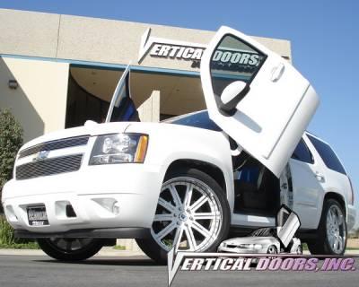 Vertical Door Kits - OEM - Vertical Doors Inc - Chevrolet Tahoe VDI Vertical Lambo Door Hinge Kit - Direct Bolt On - VDCCHEVYTAHOE07