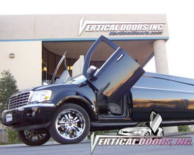 Vertical Door Kits - OEM - Vertical Doors Inc - Chrysler Aspen VDI Vertical Lambo Door Hinge Kit - Direct Bolt On - VDCCRYASP07
