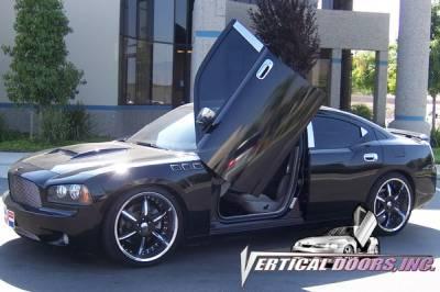 Vertical Door Kits - OEM - Vertical Doors Inc - Dodge Charger VDI Vertical Lambo Door Hinge Kit - Direct Bolt On - VDCDC0508