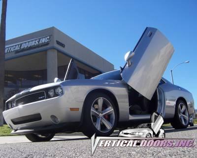 Vertical Door Kits - OEM - Vertical Doors Inc - Dodge Challenger VDI Vertical Lambo Door Hinge Kit - Direct Bolt On - VDCDCHAL08
