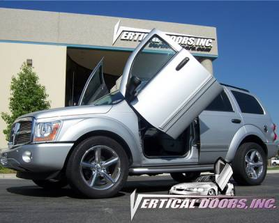 Vertical Door Kits - OEM - Vertical Doors Inc - Dodge Durango VDI Vertical Lambo Door Hinge Kit - Direct Bolt On - VDCDDUR9803