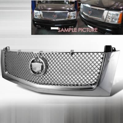 Grilles - Custom Fit Grilles - Custom Disco - Cadillac Escalade Custom Disco Mesh Grille - HG-ECLD02C