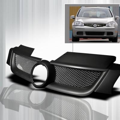 Grilles - Custom Fit Grilles - Custom Disco - Volkswagen Golf Custom Disco Hood Grille - HG-GLF05-ABS