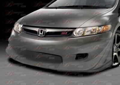 Civic 4Dr - Front Bumper - AIT Racing - Honda Civic 4DR BMagic Ace Series Front Bumper - HC06BMACEFB4