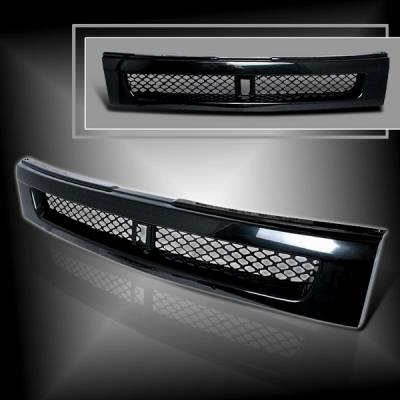 Grilles - Custom Fit Grilles - Custom Disco - Scion xB Custom Disco ABS Front Grille - HG-XB03-ABS