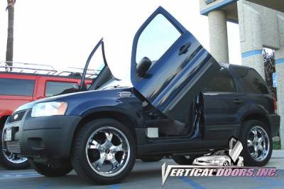 Vertical Door Kits - OEM - Vertical Doors Inc - Ford Escape VDI Vertical Lambo Door Hinge Kit - Direct Bolt On - VDCFESC0107