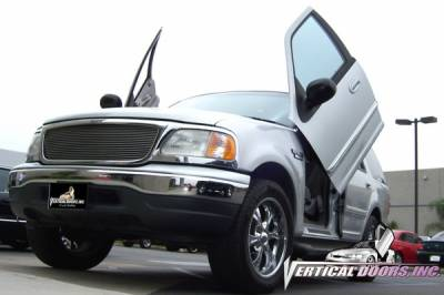 Vertical Door Kits - OEM - Vertical Doors Inc - Ford Expedition VDI Vertical Lambo Door Hinge Kit - Direct Bolt On - VDCFEX0306