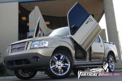 Vertical Door Kits - OEM - Vertical Doors Inc - Ford Explorer VDI Vertical Lambo Door Hinge Kit - Direct Bolt On - VDCFST0105