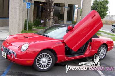 Vertical Door Kits - OEM - Vertical Doors Inc - Ford Thunderbird VDI Vertical Lambo Door Hinge Kit - Direct Bolt On - VDCFTH0206