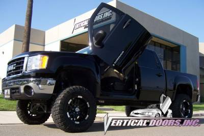 Vertical Door Kits - OEM - Vertical Doors Inc - GMC Sierra VDI Vertical Lambo Door Hinge Kit - Direct Bolt On - VDCGMCSIER07