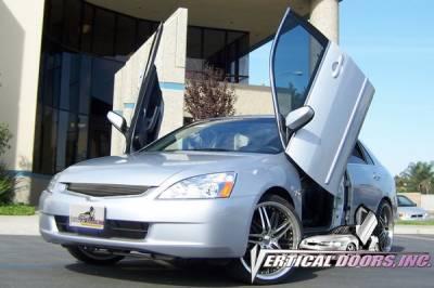 Vertical Door Kits - OEM - Vertical Doors Inc - Honda Accord 4DR VDI Vertical Lambo Door Hinge Kit - Direct Bolt On - VDCHA0307