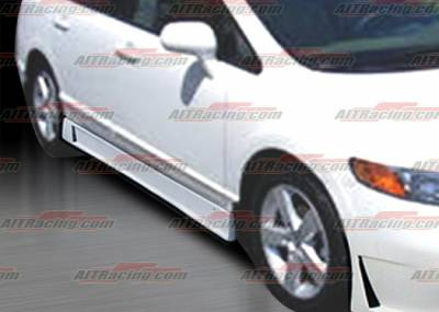 Civic 4Dr - Side Skirts - AIT Racing - Honda Civic 4DR AIT Racing Zen Style Side Skirts - HC06HIZENSS4
