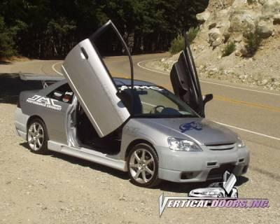 Vertical Door Kits - OEM - Vertical Doors Inc - Honda Civic VDI Vertical Lambo Door Hinge Kit - Direct Bolt On - VDCHC0105