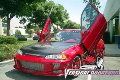 Vertical Door Kits - OEM - Vertical Doors Inc - Honda Civic VDI Vertical Lambo Door Hinge Kit - Direct Bolt On - VDCHC9295