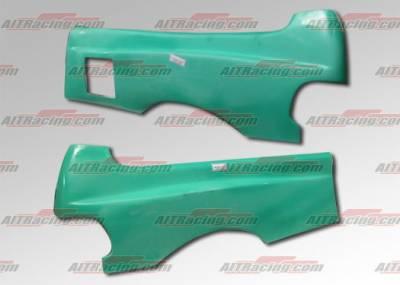 Civic HB - Body Kit Accessories - AIT Racing - Honda Civic HB AIT Racing Feels Style Wide Rear Quarter Panels - HC88HIFLSRF3
