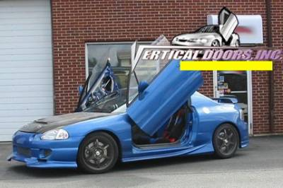 Vertical Door Kits - OEM - Vertical Doors Inc - Honda Del Sol VDI Vertical Lambo Door Hinge Kit - Direct Bolt On - VDCHDELSOL9397