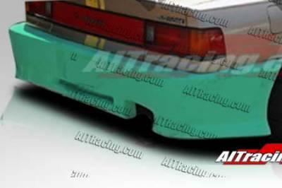 Civic 4Dr - Rear Bumper - AIT Racing - Honda Civic 4DR AIT Racing Revolution Style Rear Bumper - HC88HIREVRB4