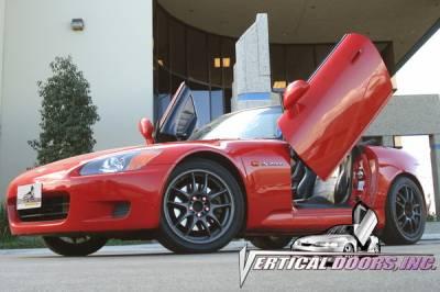 Vertical Door Kits - OEM - Vertical Doors Inc - Honda S2000 VDI Vertical Lambo Door Hinge Kit - Direct Bolt On - VDCHS2K9908