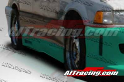 Civic 4Dr - Side Skirts - AIT Racing - Honda Civic 4DR AIT Racing Revolution Style Side Skirts - HC88HIREVSS4