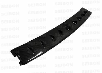 Evolution 8 - Rear Add On - Seibon - Mitsubishi Evolution 8 Seibon Carbon Fiber Rear Fin Spoiler - RFS0305MITEVO8