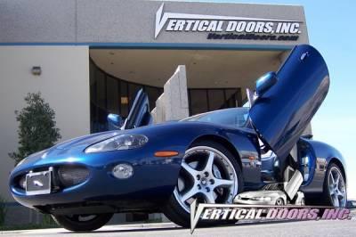 Vertical Door Kits - OEM - Vertical Doors Inc - Jaguar XK8 VDI Vertical Lambo Door Hinge Kit - Direct Bolt On - VDCJAGKX9706