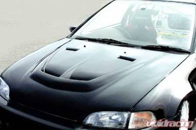 Civic HB - Hoods - Chargespeed - Honda Civic 2DR & HB Chargespeed Vented Hood