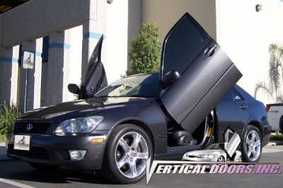 Vertical Door Kits - OEM - Vertical Doors Inc - Lexus IS VDI Vertical Lambo Door Hinge Kit - Direct Bolt On - VDCLEXIS98-04