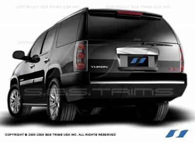SES Trim - Cadillac Escalade SES Trim ABS Chrome Rear Hatch Door Handle - Upper - RH145U