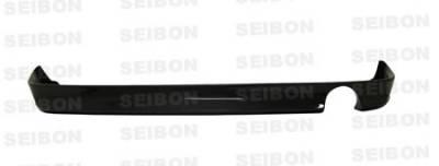 IS - Rear Bumper - Seibon - Lexus IS Seibon TA Style Carbon Fiber Rear Lip - RL0003LXIS-TA