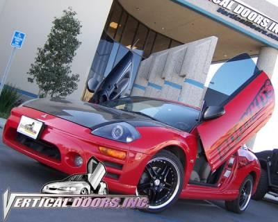Vertical Door Kits - OEM - Vertical Doors Inc - Mitsubishi Eclipse VDI Vertical Lambo Door Hinge Kit - Direct Bolt On - VDCME0005