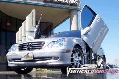 Vertical Door Kits - OEM - Vertical Doors Inc - Mercedes-Benz C Class VDI Vertical Lambo Door Hinge Kit - Direct Bolt On - VDCMERC0107