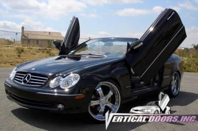 Vertical Door Kits - OEM - Vertical Doors Inc - Mercedes-Benz CLK VDI Vertical Lambo Door Hinge Kit - Direct Bolt On - VDCMERCLK0309