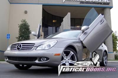 Vertical Door Kits - OEM - Vertical Doors Inc - Mercedes-Benz CLS VDI Vertical Lambo Door Hinge Kit - Direct Bolt On - VDCMERCLS04