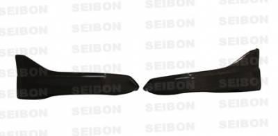 350Z - Rear Bumper - Seibon - Nissan 350Z Seibon CW Style Carbon Fiber Rear Lip - RL0205NS350-CW